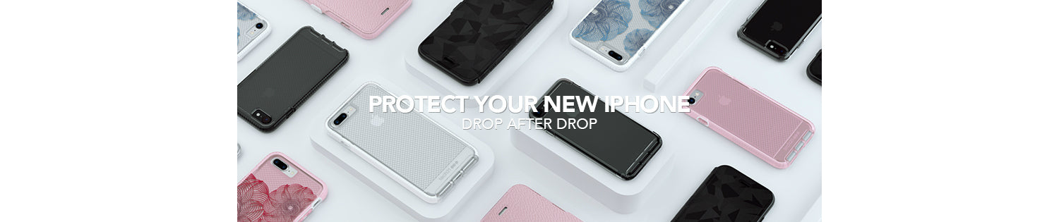 Tech21 Unveils New Phone Protection for Apple iPhone 8, iPhone 8 Plus, and iPhone X that protects drop after drop