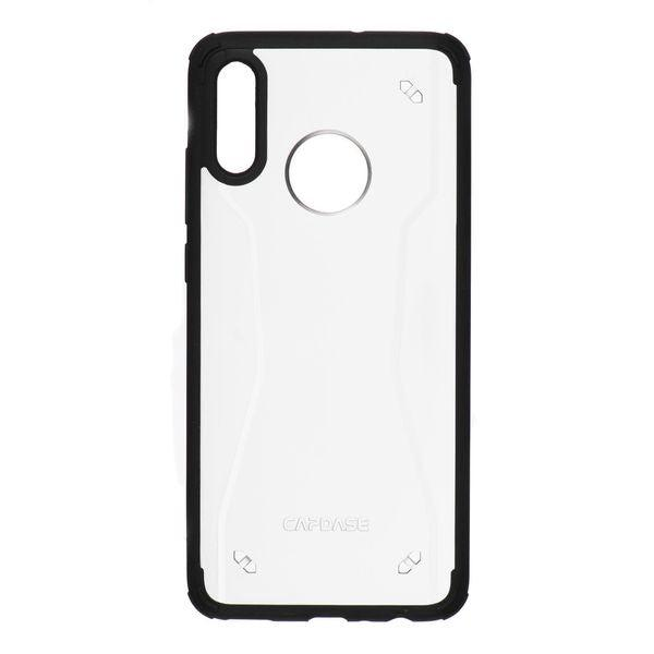 Capdase Soft Jacket Huawei P Smart Tinted White/Black 2019