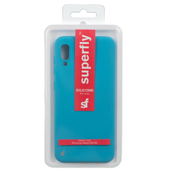 Superfly Silicone Thin Samsung Galaxy A20 Blue