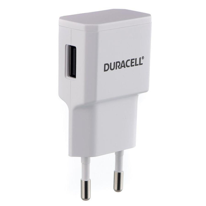 Duracell Wall Charger with Lightning Cable 2.4A (White)_DMAC14W-EU_5055190191910_Accessory Lab