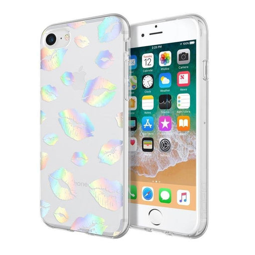 Incipio Design Series Classic iPhone 7/8 Cover (Holographic Kiss)_IPH-1553-KISS_191058035356_Accessory Lab