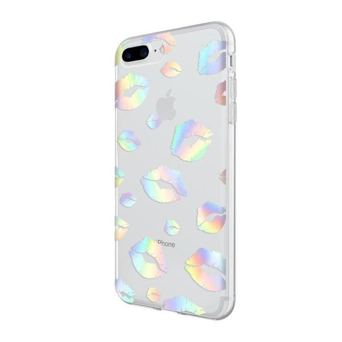 Incipio Design Series Classic iPhone 7/8 Plus Cover (Holographic Kiss)_IPH-1555-KISS_191058036025_Accessory Lab