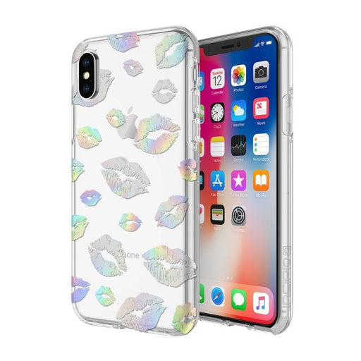 Incipio Design Series Classic iPhone X/10 Cover (Holographic Kisses)_IPH-1651-KISS_191058034670_Accessory Lab