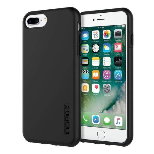 Incipio DualPro Case iPhone 7/8 Plus Cover (Black)_IPH-1491-BLK_840076184224_Accessory Lab