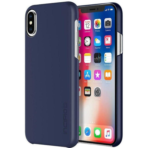 Incipio Feather iPhone X/10 Cover (Iridescent Midnight Blue)_IPH-1643-MDNT_191058034397_Accessory Lab