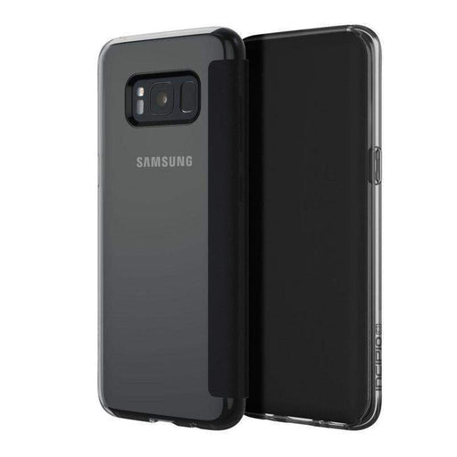 Incipio NGP Folio Case Samsung Galaxy S8 Cover (Clear/Black)_SA-879-CBK_191058024275_Accessory Lab