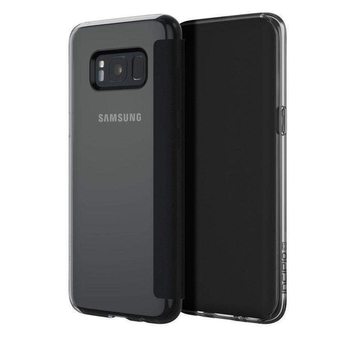 Incipio NGP Folio Case Samsung Galaxy S8 Plus Cover (Clear/Black)_SA-880-CBK_191058024282_Accessory Lab