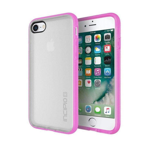 Incipio Octane Case iPhone 7/8 Cover (Frost/Pink)_IPH-1469-FPK_840076183302_Accessory Lab