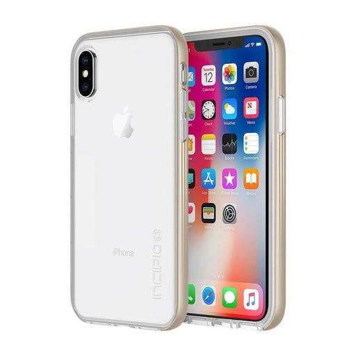 Incipio Octane LUX iPhone X/10 Cover (Champagne)_IPH-1639-CHM_191058034250_Accessory Lab