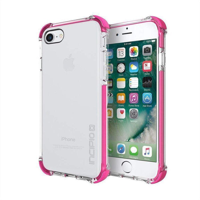Incipio Reprieve Sport Case iPhone 7/8 Cover (Clear/Pink)_IPH-1470-CPK_840076183395_Accessory Lab