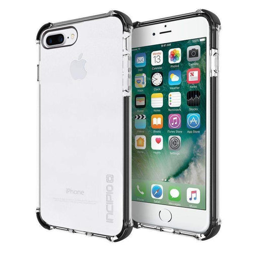 Incipio Reprieve Sport Case iPhone 7/8 Plus Cover (Clear/Black)_IPH-1496-CBK_840076184514_Accessory Lab