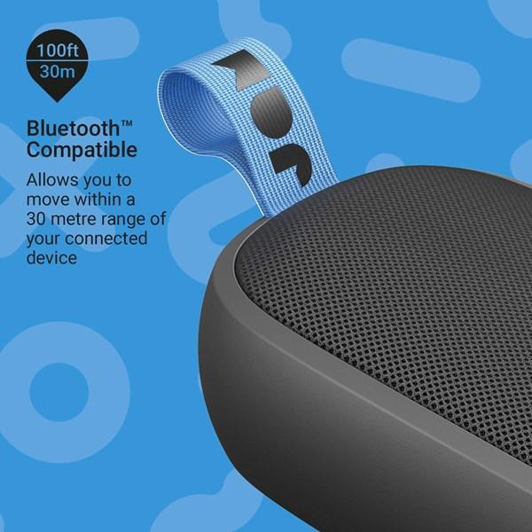 Jam Hang Around Portable Bluetooth Speaker (Black)_HX-P505BK_0031262086242_Accessory Lab