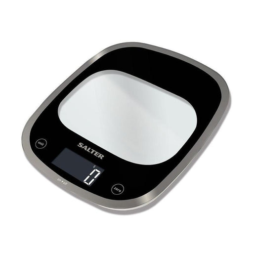 Salter Curve Glass Electronic Scale (Black)_1050 BKDR_5010777137316_Accessory Lab