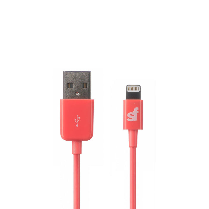 Superfly Apple MFi Sync and Charge Lightning Cable 1.2m (Pink)_SFLT-LT97PNK_0700083208774_Accessory Lab