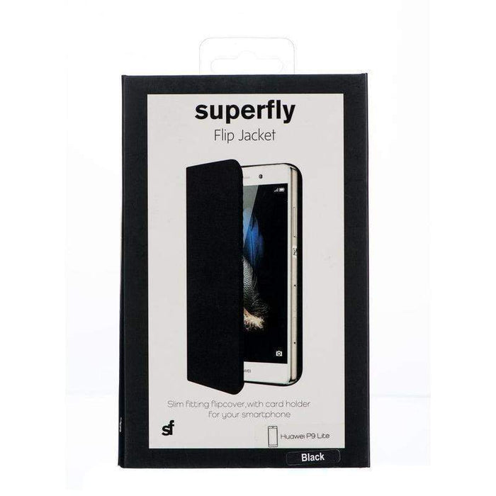 Superfly Flip Jacket Huawei P9 Lite Cover (Black)_SF-FJ-HP9L-BLK_9318018121190_Accessory Lab