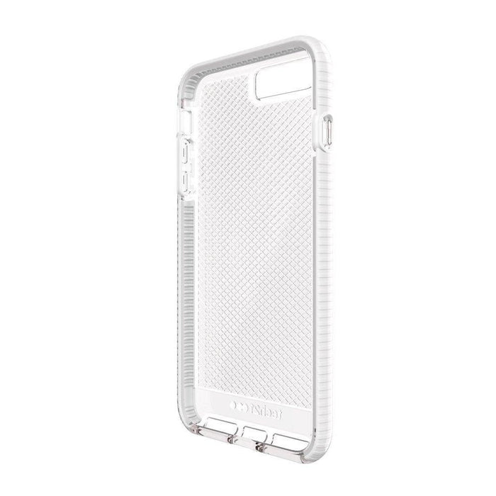 buy online d0a3a 0f133 Tech21 Evo Check iPhone 7/8 Plus Cover (Clear/White)