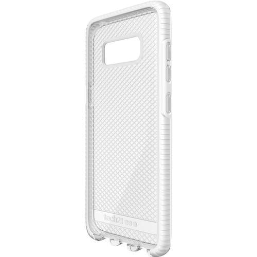 outlet store 9046c f8ebb Tech21 Evo Check Samsung Galaxy S8 Cover (Clear / White)