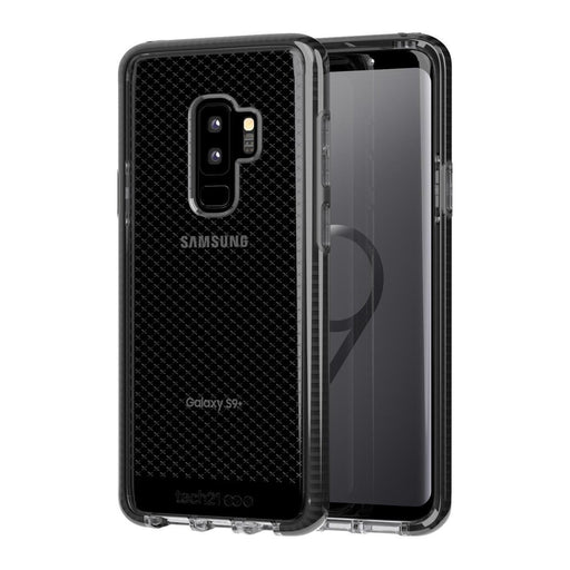 Tech21 Evo Check Samsung Galaxy S9 Plus Cover (Smokey/Black)_T21-5835_5055517390880_Accessory Lab