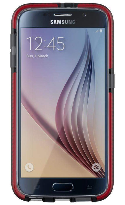 Tech21 Evo Check Samsung S6 Cover (Smokey/Red)_T21-4451_5055517344418_Accessory Lab