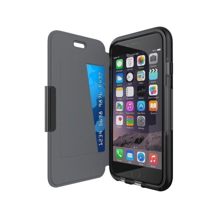Tech21 Evo Wallet iPhone 6/6S Cover (Black)_T21-5101_5055517399562_Accessory Lab