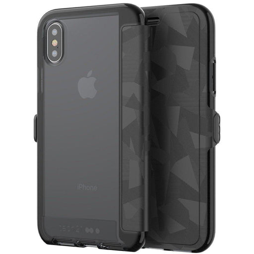 Tech21 Evo Wallet iPhone X/10 Cover (Black)_T21-5860_5055517385541_Accessory Lab