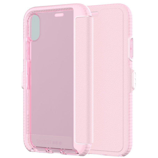 Tech21 Evo Wallet iPhone X/10 Cover (Pink)_T21-5861_5055517385572_Accessory Lab