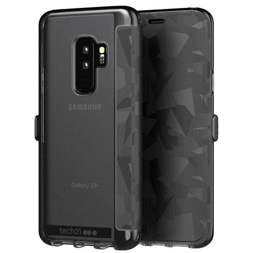 Tech21 Evo Wallet Samsung Galaxy S9 Plus Cover (Black)_T21-5842_5055517391245_Accessory Lab