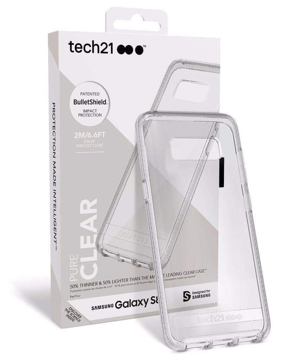 Tech21 Pure Clear Samsung Galaxy S8 Cover (Clear)_T21-5583_5055517375818_Accessory Lab