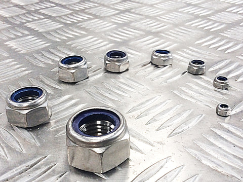 NUTS STAINLESS STEEL
