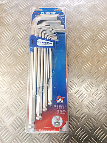 KING TONY 13pc ALLEN KEY SET