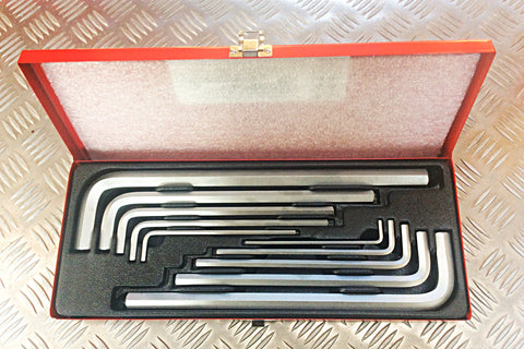KING TONY 10pc ALLEN KEY SET