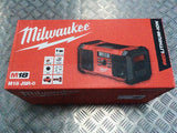 MILWAUKEE 18V CORDLESS RADIO