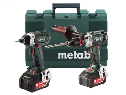METABO 18 VOLT DRILL/DRIVER TWIN PACK
