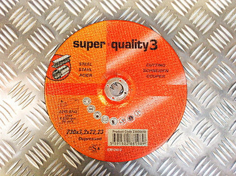 SUPER QUALITY 3 230mm CUTTING DISK