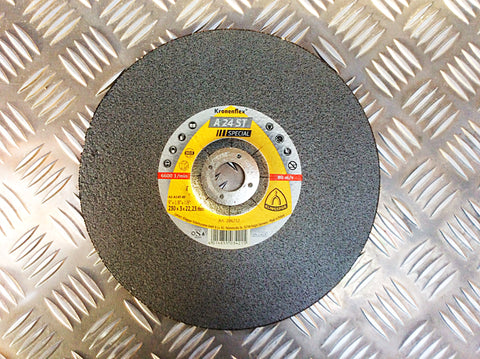 KLINGSPOR 230mm CUTTING DISK