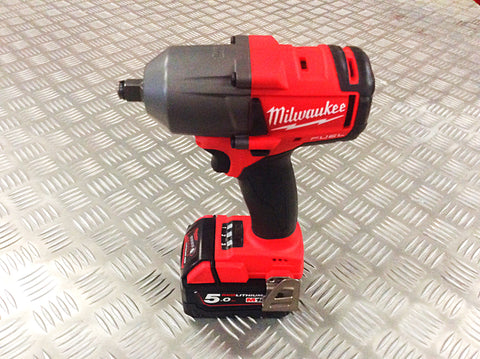 "MILWAUKEE 18 VOLT 1/2"" MEDIUM IMPACT WRENCH"