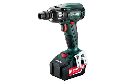 "METABO 18V 400nm 1/2"" DRIVE IMPACT WRENCH KIT 5.2ah"