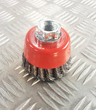75mm KNOTTED ROTARY WIRE BRUSH