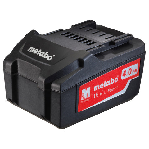 METABO 18 VOLT BATTERY 4.0ah