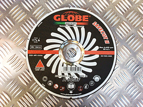 GLOBE 230mm CUTTING DISK