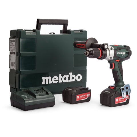METABO SB18LTX 18 VOLT IMPULSE DRILL KIT 4.0ah