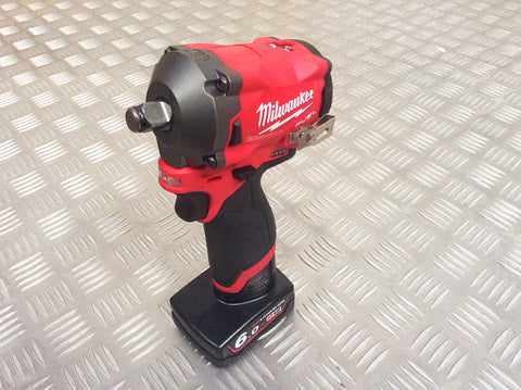 "MILWAUKEE 12V STUBBY 1/2"" DRIVE IMPACT WRENCH"