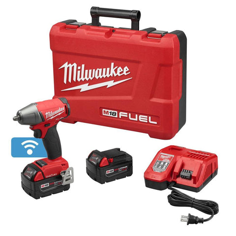 "MILWAUKEE 18 VOLT 3/8"" DRIVE IMPACT WRENCH 5.0ah KIT"