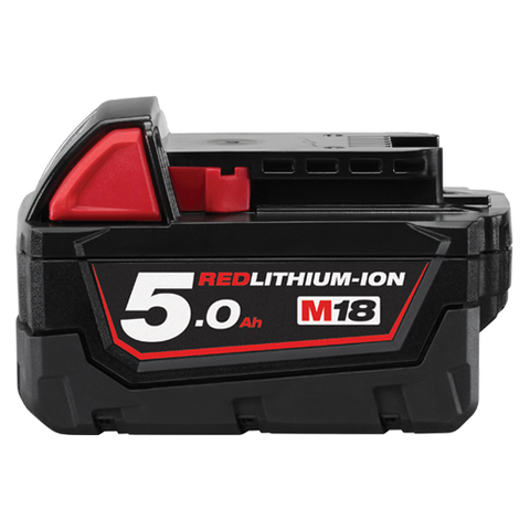 MILWAUKEE 18 VOLT 5.0ah LITHIUM ION BATTERY