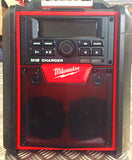 MILWUKEE BLUETOOTH SPEAKER/CHARGER RADIO