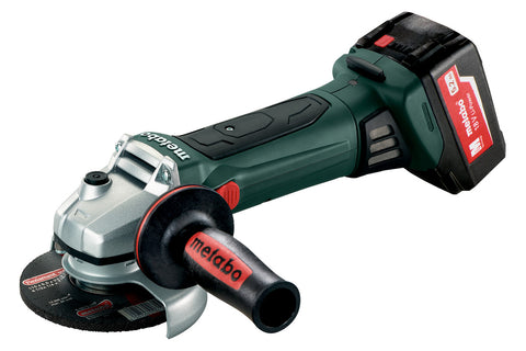 "METABO 18 VOLT 4 1/2"" GRINDER 5.2ah KIT"