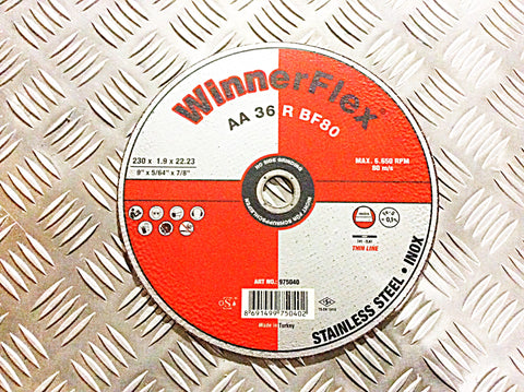 "WINNERFLEX 9"" x 1.9mm CUTTING DISK"