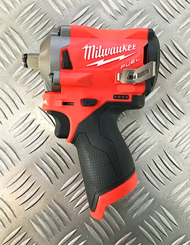 "MILWAUKEE 12volt 1/2"" drive STUBBY WRENCH"