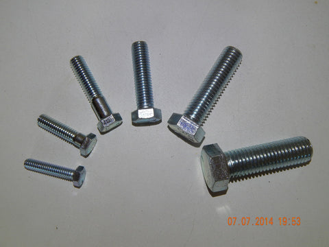"1/4"" UNC BOLTS AND SETSCREWS"