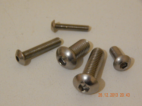 BUTTON CAP SCREWS